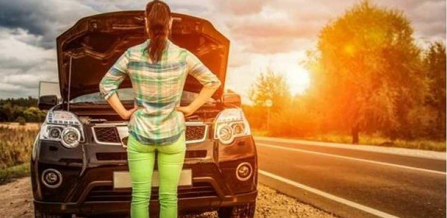 jak holować samochód